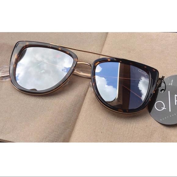 671b90c04dccb Quay Australia French Kiss Tortoise Sunglasses